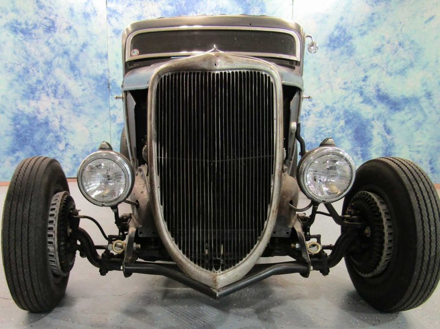 1934 FORD  3 WINDOW COUPE 18961501