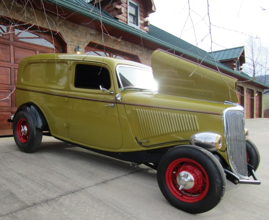 1934 FORD SEDAN DELIVERY VAN For Sale - Iron Horse Hot Rod & Cycles