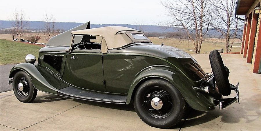 1934 FORD DELUXE ROADSTER 181000567