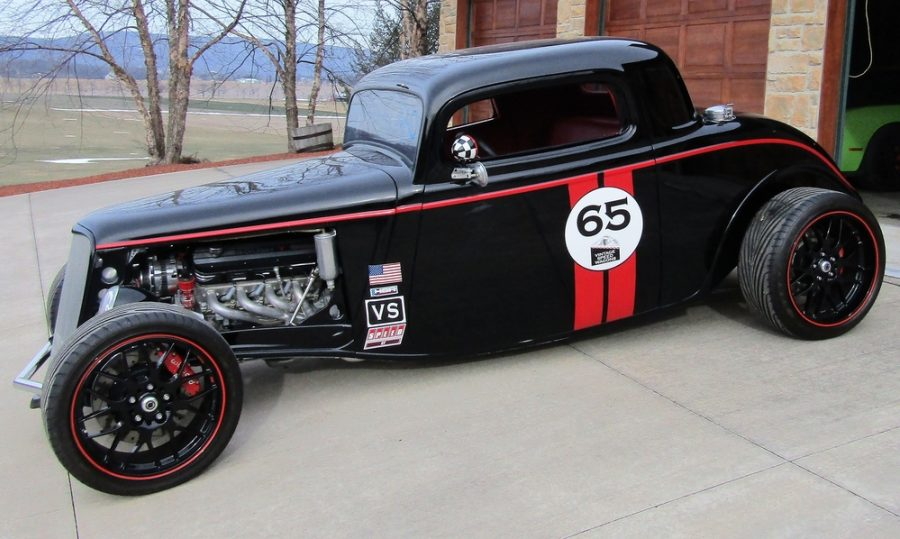 1934 FORD 3 WINDOW COUPE  .000