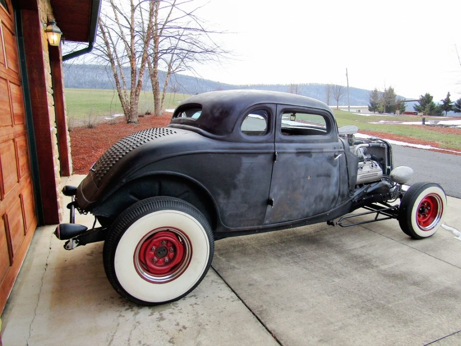 1934 ford 5 window coupe for sale iron horse hot rod for 1934 ford 5 window