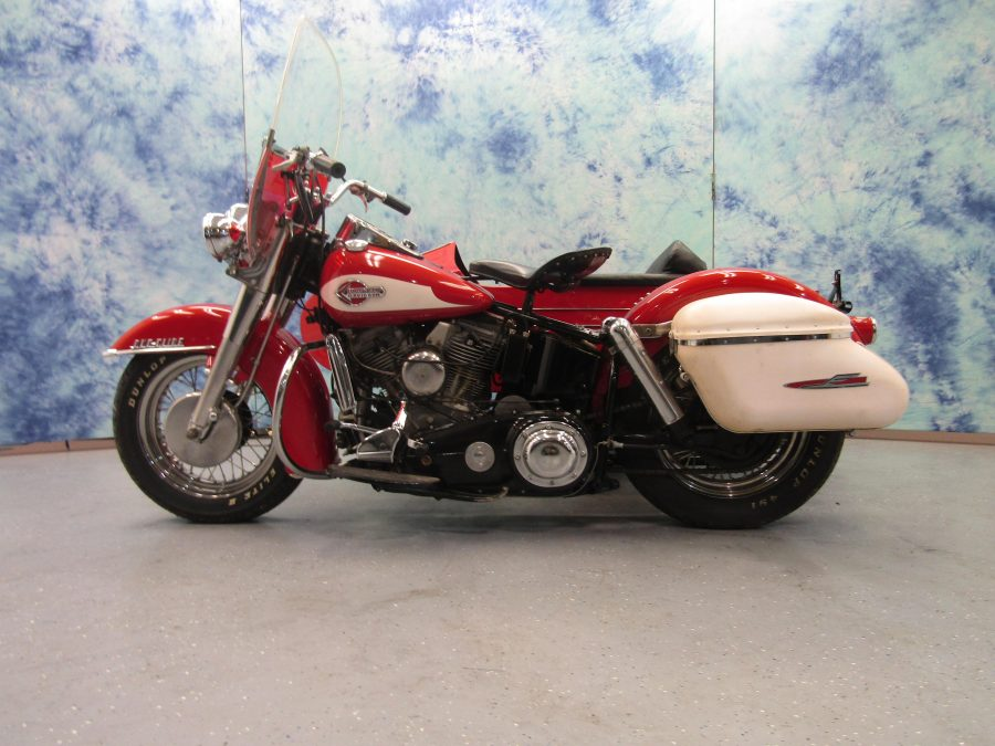 1959 Harley Davidson Flh With Sidecar For Sale Iron Horse Hot Rod