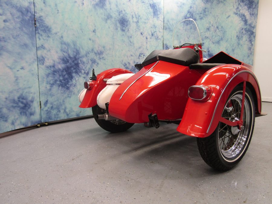 1959 HARLEY DAVIDSON FLH WITH SIDECAR 59FLH4143