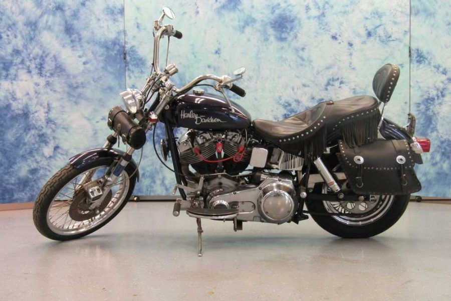 1974 HARLEY DAVIDSON FXE WITH SIDECAR 9D17252H4
