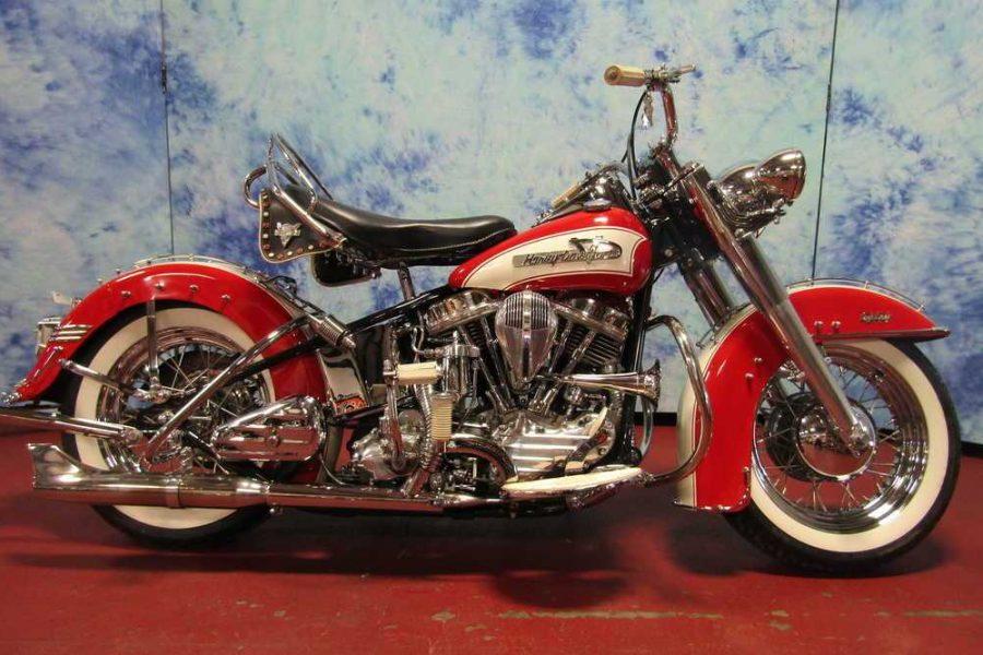 1955 HARLEY DAVIDSON FL 55FL1282