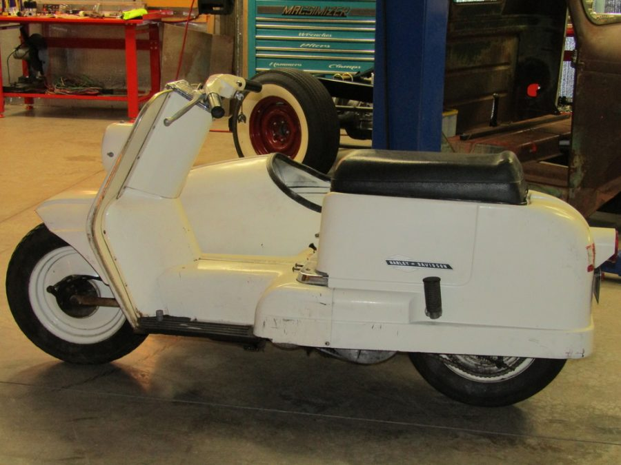 1965 HARLEY DAVIDSON TOPPER WITH SIDE CAR 65AH1153