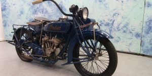 1927 INDIAN SCOUT WITH SIDE CAR B63490