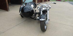 1950 HARLEY DAVIDSON FL with sidecar 50FL9653