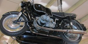 1962 BMW R69S WITH SIDE CAR 656602